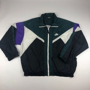 Vintage Nike Zip Up Windbreaker Jacket Mens Large